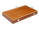 picture of 15-inch Mahogany Backgammon Set - Red (11 of 12)