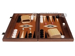 picture of 15-inch Mahogany Backgammon Set - Black (4 of 12)
