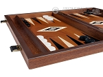 picture of 15-inch Mahogany Backgammon Set - Black (5 of 12)