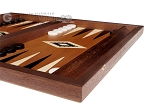 picture of 15-inch Mahogany Backgammon Set - Black (6 of 12)