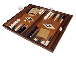 picture of 15-inch Mahogany Backgammon Set - Blue (1 of 11)