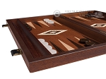 picture of 15-inch Mahogany Backgammon Set - Brown (4 of 11)