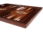 picture of 15-inch Mahogany Backgammon Set - Brown (5 of 11)