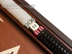 picture of 15-inch Mahogany Backgammon Set - Brown (6 of 11)