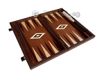 picture of 15-inch Mahogany Backgammon Set - Brown (9 of 12)