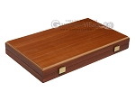 picture of 15-inch Mahogany Backgammon Set - Brown (11 of 12)
