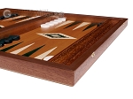 picture of 15-inch Mahogany Backgammon Set - Green (6 of 12)