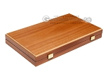 picture of 15-inch Mahogany Backgammon Set - Green (10 of 11)