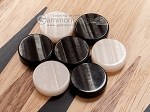 picture of 15-inch Ebony Zebrano Backgammon Set - Oak Field (7 of 12)