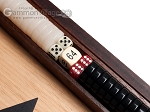 picture of 15-inch Ebony Zebrano Backgammon Set - Oak Field (8 of 12)