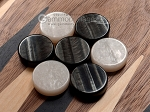 picture of 15-inch Ebony Zebrano Backgammon Set - Walnut Field (7 of 12)