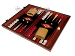 picture of 15-inch Padauk Backgammon Set - Black Field (1 of 11)