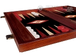 picture of 15-inch Padauk Backgammon Set - Black Field (5 of 12)