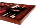 picture of 15-inch Padauk Backgammon Set - Black Field (6 of 12)