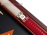 picture of 15-inch Padauk Backgammon Set - Black Field (8 of 12)