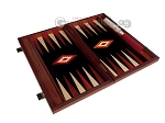 picture of 15-inch Padauk Backgammon Set - Black Field (9 of 12)