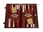 picture of 15-inch Padauk Backgammon Set - Padauk Field (1 of 12)