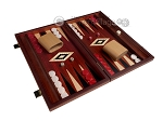picture of 15-inch Padauk Backgammon Set - Padauk Field (2 of 11)