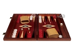 picture of 15-inch Padauk Backgammon Set - Padauk Field (4 of 12)
