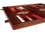 picture of 15-inch Padauk Backgammon Set - Padauk Field (4 of 11)