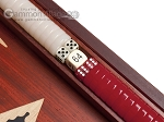picture of 15-inch Padauk Backgammon Set - Padauk Field (8 of 12)
