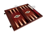 picture of 15-inch Padauk Backgammon Set - Padauk Field (9 of 12)