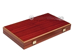 picture of 15-inch Padauk Backgammon Set - Padauk Field (10 of 11)