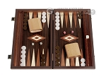 15-inch Wenge Backgammon Set - Wenge Field - Item: 2908