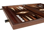 picture of 15-inch Wenge Backgammon Set - Wenge Field (4 of 11)