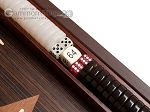 picture of 15-inch Wenge Backgammon Set - Wenge Field (8 of 12)