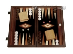 picture of 15-inch Wenge Backgammon Set - Black Field (1 of 12)