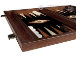 picture of 15-inch Wenge Backgammon Set - Black Field (5 of 12)