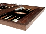picture of 15-inch Wenge Backgammon Set - Black Field (6 of 12)