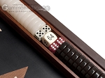 picture of 15-inch Wenge Backgammon Set - Black Field (8 of 12)
