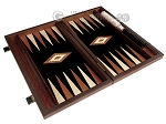 picture of 15-inch Wenge Backgammon Set - Black Field (8 of 11)