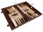 picture of 15-inch Wenge Backgammon Set - Oak Field (2 of 12)