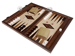 15-inch Wenge Backgammon Set - Oak Field - Item: 2907
