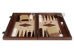 picture of 15-inch Wenge Backgammon Set - Oak Field (3 of 11)