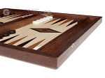 picture of 15-inch Wenge Backgammon Set - Oak Field (5 of 11)