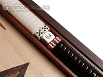 picture of 15-inch Wenge Backgammon Set - Oak Field (8 of 12)