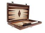 picture of 15-inch Wenge Backgammon Set - Oak Field (10 of 12)