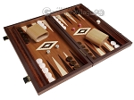 picture of 15-inch Wenge Backgammon Set - Mahogany Field (2 of 12)