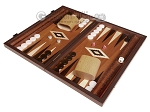 picture of 15-inch Wenge Backgammon Set - Mahogany Field (1 of 11)