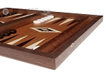 picture of 15-inch Wenge Backgammon Set - Mahogany Field (5 of 11)