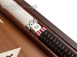 picture of 15-inch Wenge Backgammon Set - Mahogany Field (8 of 12)