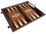 picture of 15-inch Wenge Backgammon Set - Mahogany Field (8 of 11)