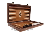 picture of 15-inch Wenge Backgammon Set - Mahogany Field (10 of 12)