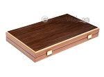 picture of 15-inch Wenge Backgammon Set - Mahogany Field (10 of 11)