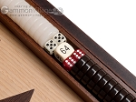 picture of 15-inch Walnut Root Backgammon Set - Oak Field (8 of 12)