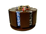 picture of 14gram Ace Casino Clay Poker Chips - Carousel Case - 200 Chips (3 of 4)